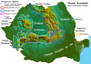 Romania munti